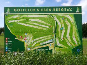 Überblick über den Golfclub Sieben-Berge
