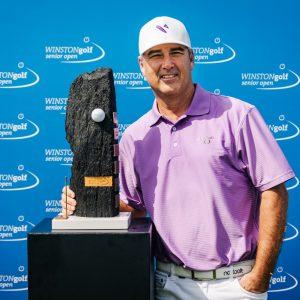 WINSTON Senior Open Sieger Clark Dennis