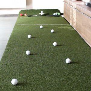 Private Greens Puttingmatte als Geschenk für Golfer zu Weihnachten