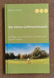 """Buch """"Der kleine Golfmentalcoach"""" als Geschenk für Golfer zu Weihnachten"""